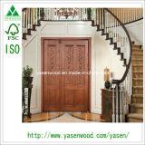 Precio de madera de las puertas de la pantalla interior comercial moderna
