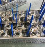 Vávula de bola de Ss316 Dn25 3pieces NPT (Q11F-DN25-1000WOG)