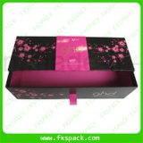 Роскошная твердая коробка ювелирных изделий бумаги Kraft типа ящика упаковывая