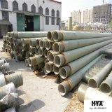 Il materiale del poliuretano adotta il tubo di FRP per il trasporto dell'acqua della sorgente calda