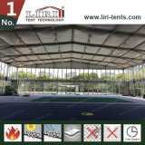 Zwei Geschichte-Zelt: Doppelter Decker für Lebesmittelanschaffung und Sportzentrum