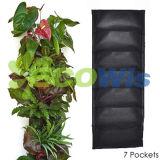 Bolso 7 que pendura o plantador vertical da parede do jardim (HT5093A)
