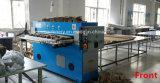 Máquina cortando da tela hidráulica fácil da folha de cama da operação