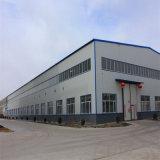 プレハブ工学大きいスパンの鉄骨構造の倉庫