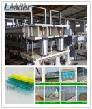 Qualitäts-Polycarbonat Multiwall hohle Blatt-Dach-Blatt-Strangpresßling-Zeile