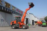 Китай Tl1500 затяжелитель колеса заграждения 1.5 тонн телескопичный с грузоподъемником
