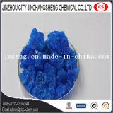 Sulfate de cuivre en cristal bleu de poudre