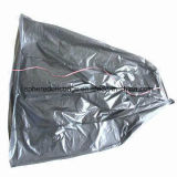 LDPE Transparent Star Seal Roll Packed Plastic Garbage Bag con i pp String