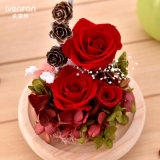 De Ivenran Ingevoerde Doos van de Gift van de Dag van de Valentijnskaart van de Douane van Bloemen