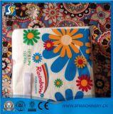 Precio de la máquina de la producción del tejido de la servilleta estupenda de la impresión en color y el grabar