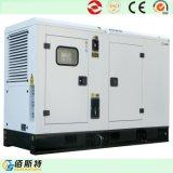 generador silencioso del gas de potencia 75kw con el alternador de Stamford