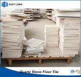 水晶12mmの厚さ(単一カラー)の建築材料のための石造りの床タイル