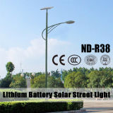 (ND-R38) Lampada di via solare diplomata Ce