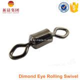 Eslabón giratorio del balanceo del ojo del diamante de la alta calidad