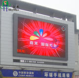 RGB LED edificio al aire libre pantalla LED