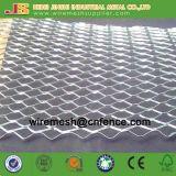Hoja ampliada galvanizada del listón del metal usada en pared del edificio
