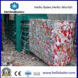 Halb automatische horizontale Ballenpresse-Maschine für Abfallwirtschaft