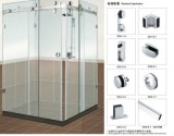 Accessoires en verre B004 de porte coulissante de salle de bains pour la pièce de douche