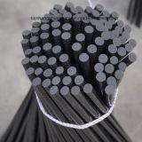 Fibra Rod do carbono de Soild, barra da fibra do carbono