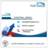 중국에서 Topgood 스테인리스 엔드 캡
