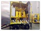 Zyd-150 (9000L/H) purificador de petróleo usado do transformador, purificação de petróleo