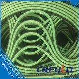 Courroie d'enduit vert pour la machine à emballer