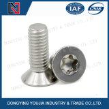Tornillos principales avellanados socket de Hexalobular del acero inoxidable ISO14581