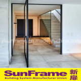 Perfil de aluminio para la puerta de lujo del marco con la visión hermosa