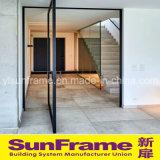 Perfil de alumínio para a porta luxuosa do Casement com vista bonita