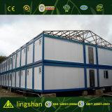 Oficina de acero prefabricada económica del sitio