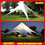 Tenda impermeabile a prova di fuoco dello schermo della stella del coperchio della tenda del giardino