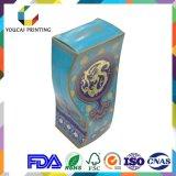 Коробка скачками формы нестандартной конструкции роскошная с поверхностью печати золота UV