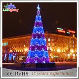 Árvore de Natal gigante artificial do diodo emissor de luz da luz ao ar livre da decoração do Natal