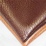 ソファーの家具カバーのための穀物PVC革をカスタマイズしなさい
