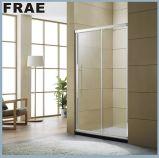 Sitio de ducha simple de desplazamiento competitivo de la pantalla de la bañera de la ducha de la puerta de entrada