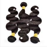 cabelo brasileiro do Virgin da onda do corpo do cabelo humano da classe 8A