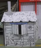 Paper Cat House, Paper Toy House, Carton House