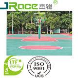 UVstärken-Innengummibodenbelag-Sport-Bodenbelag-Oberfläche der beschichtung-3/4/5mm