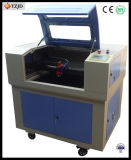 Estaca de vidro da gravura do laser do CO2 que cinzela a máquina
