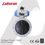 Dn100 - Valvola a farfalla pneumatica della polvere di Dn400mm per l'applicazione del cemento