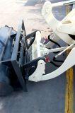 Carregador pequeno usado Kubota da roda da parte frontal do Jcb de Volvo mini