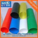 착색된 투명한 엄밀한 PVC 장 필름