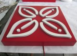 Customed Stailessのライトボックスを広告する鋼鉄ペンキLEDのアクリルの正方形