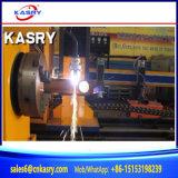 3 Chinees CNC van de as Plasma die de Automatische Kruising die van de Pijp snijden Machine Beveling snijden