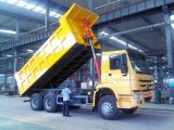 Sinotruk HOWO 6X4 20cbm 10のタイヤのダンプトラック