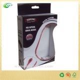 Boîte-cadeau de empaquetage cosmétique avec le carton de pliage clair de guichet, (CKT-CB-325)