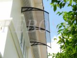 Policarbonato Awning/Canopy/Shade/Shelter per Windows e Doors