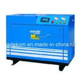Compressor de ar pequeno elétrico portátil lubrific do parafuso do parafuso (K5-13D)