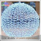 Bola caliente de la luz del adorno de la Navidad 3D de la decoración LED del día de fiesta de la venta