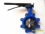Тип клапан-бабочка волочения стержня двойника половинная с Handlever
